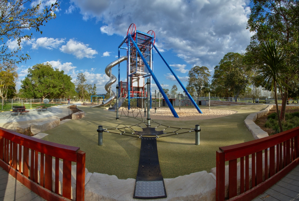 Speers Point Park All Abilities Playground Furnass